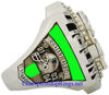 """Picture of 2004 New England Patriots """"Super Bowl XXXIX"""" Champions 14K White Gold, with Diamonds, Player's Ring"""