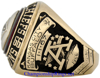 "Picture of 1966 Kansas City Chiefs ""A.F.L."" Champions 10K Gold and Diamond Player's Ring"