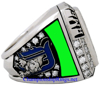 """Picture of 2006 Detroit Tigers """"American League"""" Champions 14K White Gold, with Diamonds, Staff Member's Ring and Original Presentation Box"""